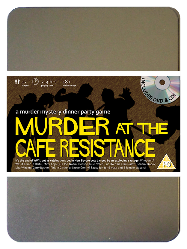 Click to view Murder at the Cafe Resistance