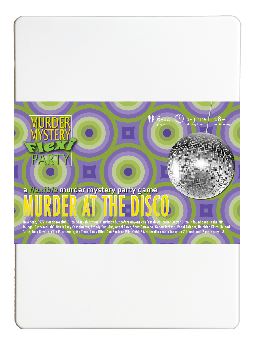 Click to view our Murder Mystery Flexi-Party range