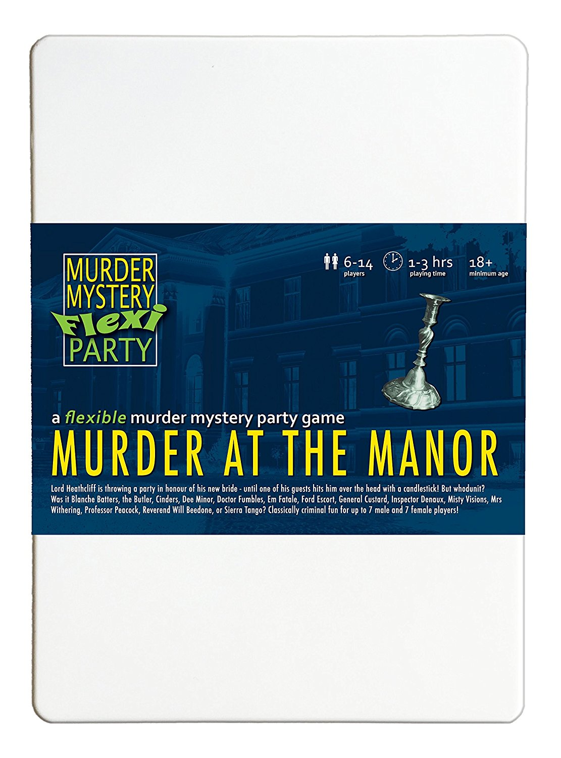 Click to view our range of boxed murder mystery games
