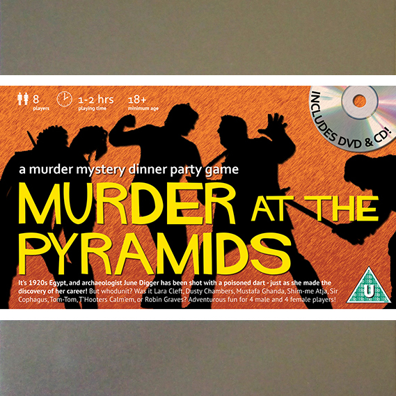 Best Murder Mystery Dinner Free: Murder At The Pyramids [Download]