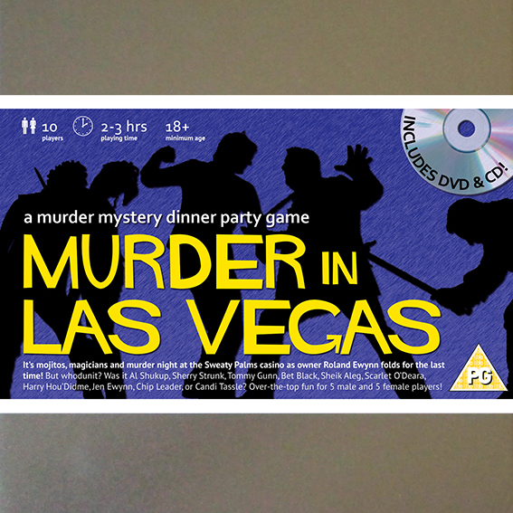 Best Murder Mystery Dinner Free: Murder In Las Vegas [Download]