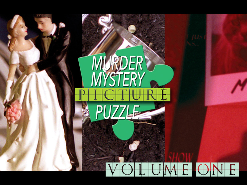 Murder Mystery Jigsaw Crossword Puzzles