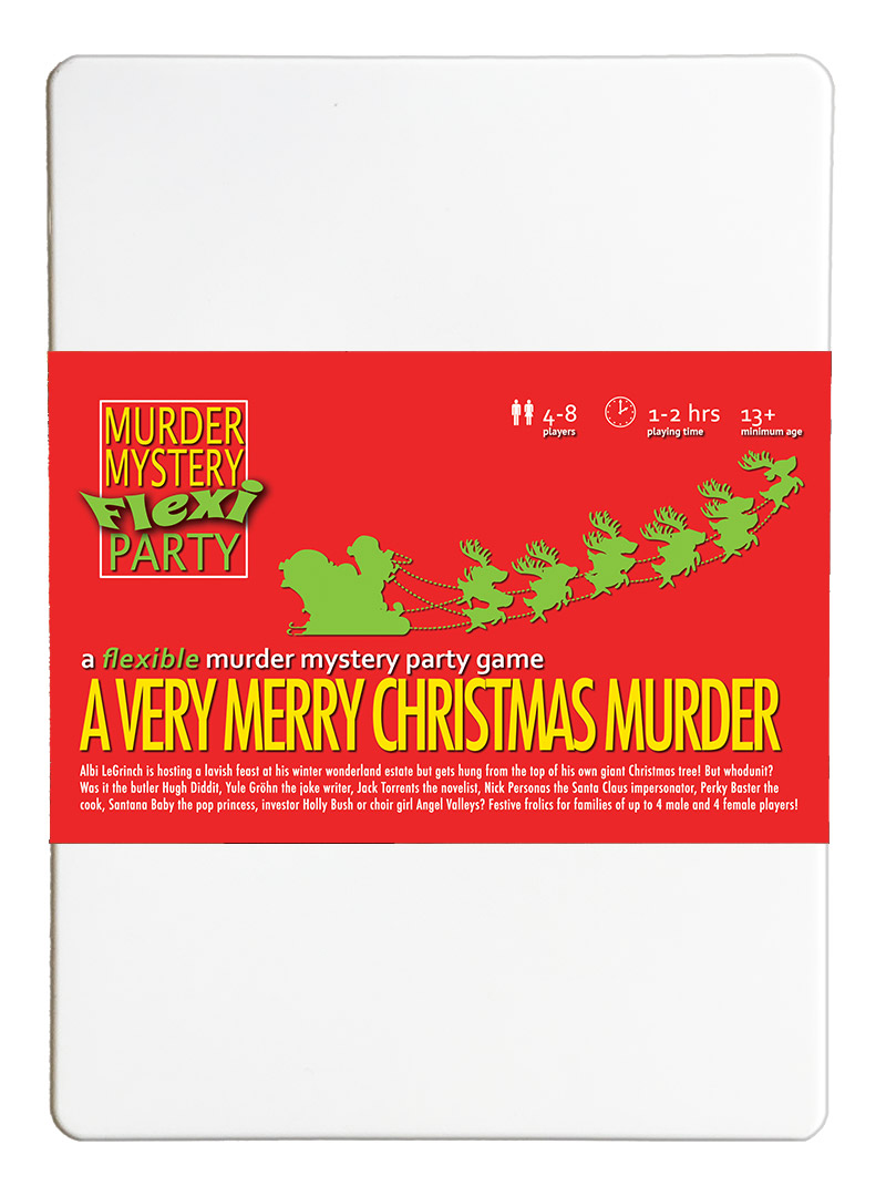 Free Dinner Party Games Ideas Part - 35: A Very Merry Christmas Murder £19.99