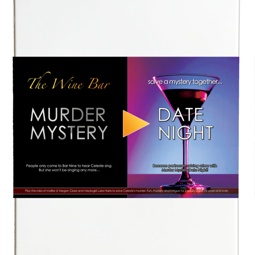 Murder Mystery Date Night : The Wine Bar [Download]